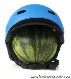 Skihelm Wassermelone Sicherheit