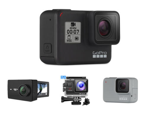 Actionsport Kameras: Gibt es Alternativen zur GoPro HERO 7?