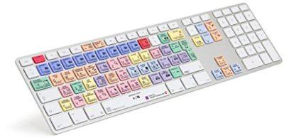 Schnitt von Videos mit extra Tastatur